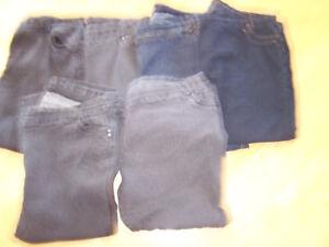 8 photos, jeans, et +++ dames grandeur 26 - 24 , 3 x,  4 x,  5 x