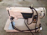 Working vintage singer sewing machine