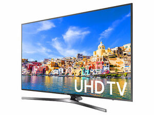 "The Samsung 55"" 4K UHDTV is now available!"