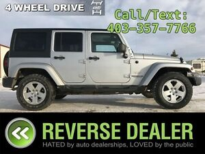 2011 Jeep Wrangler Unlimited Sahara  Auto, Removable Top, A/C,