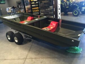 Tetra-POD, trailer, boat, hunting blind all in one