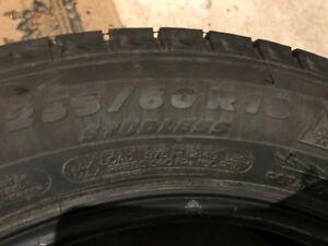 4 Pneus hiver Michelin Latitude X-Ice 235/60 R18