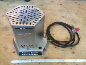 15,000 to 25,000 BTU Convection Propane Heater, Tiger torch