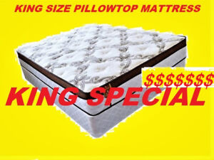BRAND NEW KING SIZE MATTRESS THICK EURO TOP $385  ONLY FEW LEFT,