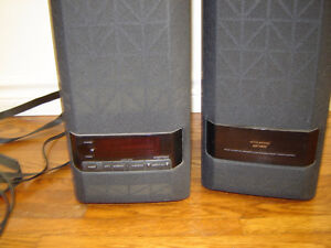Sony Active Surround Sound powered speakers - 4 plus remote London Ontario image 2