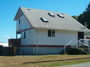 Ocean view home for rent in Chemainus