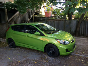 2013 Hyundai Accent GL Hatchback - Super Low Mileage