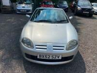 2002 MG TF, done 51000 miles with some history and cylinder repair, rare car now