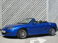 2004 MG TF 1.8 135 CONVERTIBLE - ONLY 57000 MILES FROM NEW !!