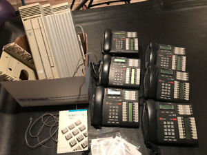 OFFICE PHONE SYSTEM: Nortel Norstar Phone Network PLUS 6 phones