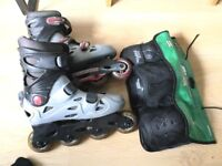 Kids Roller Skates And Guards