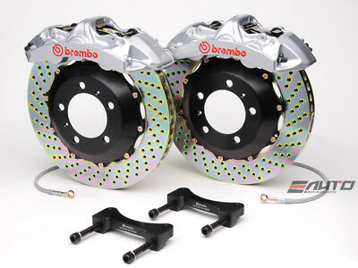 Brembo Front GT Brake 6pot Silver 355x32 Drill Disc BMW F20 F21 F22 F30 F32 F33