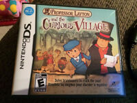 Jeu Professor Layton and the curious Village