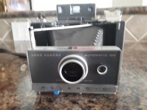Vintage Polaroid 1960's Land Camera Automatic 100