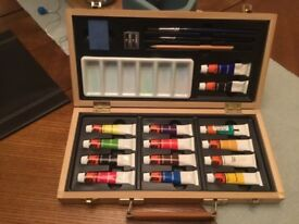 Watercolour set by WH Smith