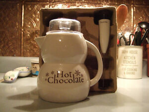 Hot chocolate maker- $5
