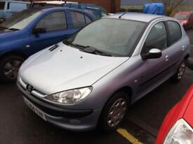 Peugeot 206 1.4 2004MY Fever MOT AUGUST 2018 5 DOOR