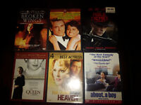 Six DVDs just $15. Check out my other ads!