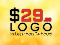 $30 CUSTOM LOGO ................ IN LESS THAN 24 HOURS FLAT RATE