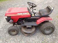 "12.5 hp 38"" yard man lawn tractor mower make an offer"