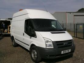 2011 FORD TRANSIT 2.4TDCi 350 MWB HIGH ROOF WITH 110V GENERATOR UTILITY VAN