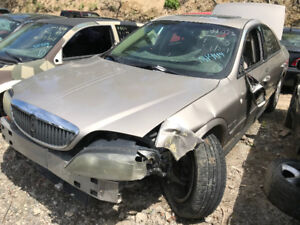 2003 Lincoln LS ** FOR PARTS ** INSIDE & OUTSIDE **