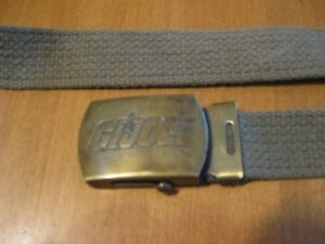 GI JOE VINTAGE 1980'S BELT CHILD SIZE