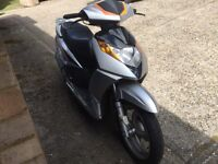 2011 Milano 125 cc learner legal 125cc scooter. MOT. Runs excellent. Minor cracked plastics.