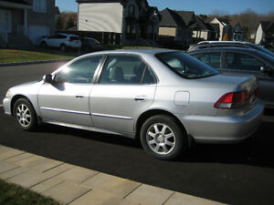 2002 Honda Accord SE Familiale