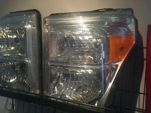 2011 to 2016 Ford 250-350 Super Duty Headlights Assembly