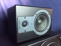"M-Audio B5XA (5"") Studio Reference (2) Monitors - Like New!"