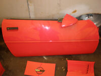 C4 Corvette Right Door assy. and misc. parts for sale.