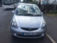 HONDA JAZZ,1.3 LOW MILEG