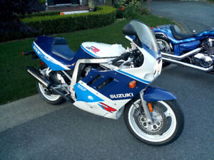 1989 Suzuki GSX-R 750 For Sale--A Classic in Excellent Shape!