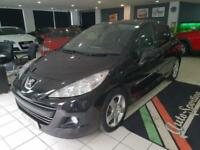 2011 Peugeot 207 1.6 VTi Sport Tiptronic 5dr Petrol black Automatic