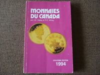 MONNAIES DU CANADA 1994 by J.a. Haxby and Robert C. Willey