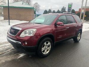 Gmc Acadia 2007 AWD 7 passager cuir DVD