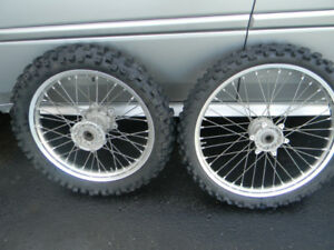 YAMAHA YZ 125/250 RIMS USED AS SPARE SET ONLY $400