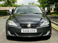 2006 56 Lexus IS 220D 2.2 TD 4dr SE WITH SH+LEATHER+SATNAV+REVERSE CAMERA+