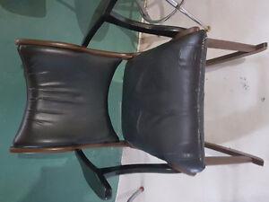 Chaise berçante vintage