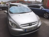 Peugeot 307 sw estate 1.6 automatic, panoramic roof, 7 seater, swaps why?