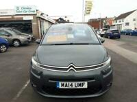 2014 Citroen GRAND C4 PICASSO 1.6 e-HDi Diesel Airdream VTR+ Auto 7 Seater From