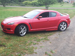 2004 Mazda rx8 with only 84000klms