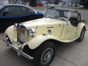 CLASSIC SPECIAL EDITION MG, 1952 REPLICA ON A VOLKSWAGEON CHASIE