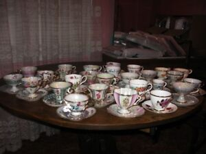 Collection de tasses de fantaisie