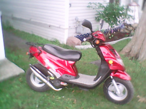 Upgraded scoot big bore  and much more
