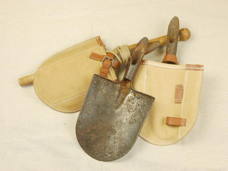 Replica of WW2 Japanese Army Sapper Spade/Shovel Canvas Cover
