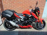 2017 (17) KAWASAKI GSX-S750 - WITH HEATED GRIPS AND PANNIERS