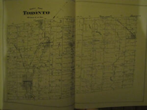 Illustrated Historical Atlas of the County of Peel Cambridge Kitchener Area image 1