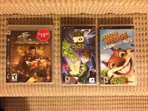 PlayStation and PSP Games